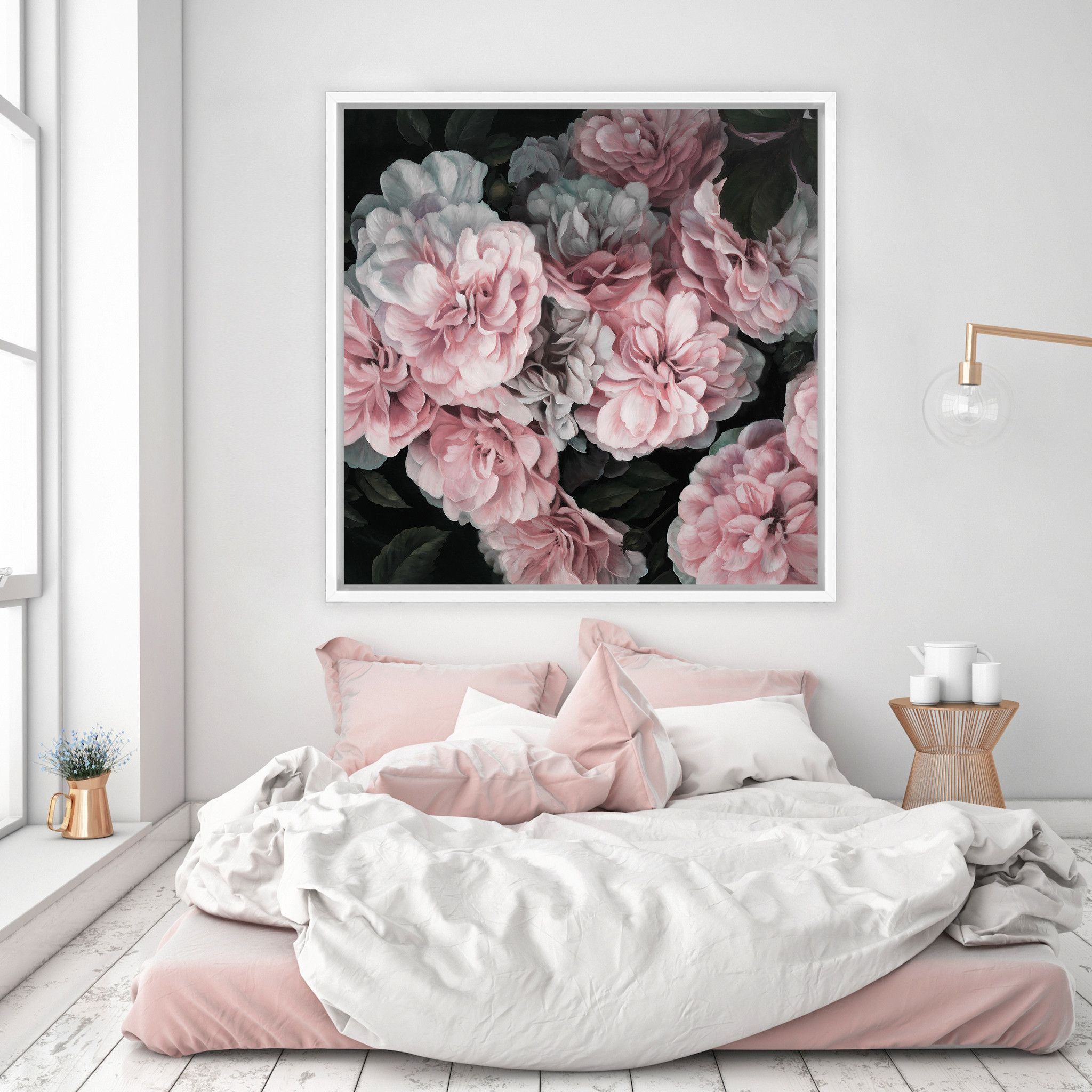 FLOWERS AND FLOWER PRINTS